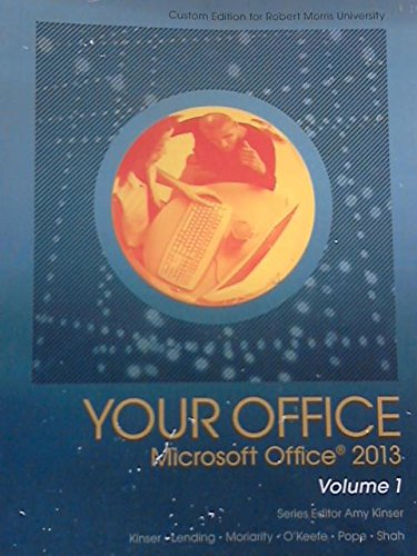 9781269922524: Your Office Microsoft Office 2013