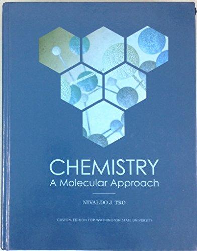 9781269932608: Chemistry: A Molecular Approach (Custom Edition for Washington State University)