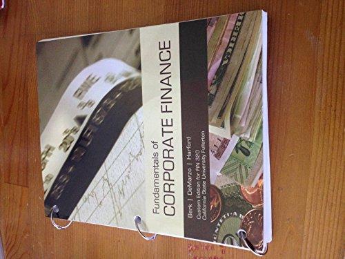 9781269939355: Fundamentals of Corporate Finance