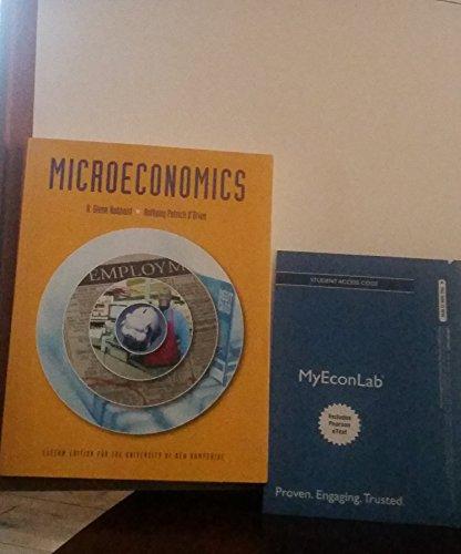 9781269946919: Microeconomics: Custom Edition for the University of New Hampshire