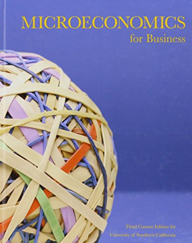 9781269952774: Microeconomics for Business