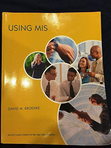 9781269953016: Using MIS, Custom Edition (Taken from Fifth Edition)