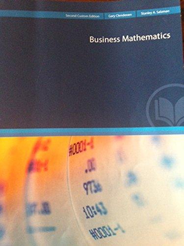 9781269960311: Business Mathematics