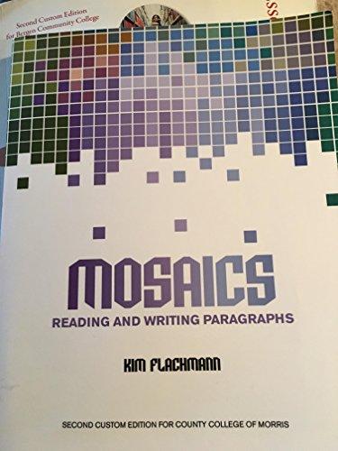 9781269962254: MOSAICS Reading and Writing Paragraphs