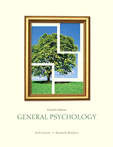 9781269970624: General Psychology (4th Edition)
