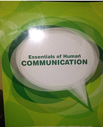 9781269971812: Essentials of Human Communications - Nashville State