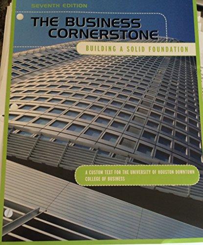 9781269994583: BUSINESS CORNERSTONE (LL) >CUSTOM<