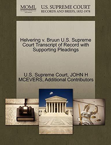 Helvering v. Bruun U.S. Supreme Court Transcript