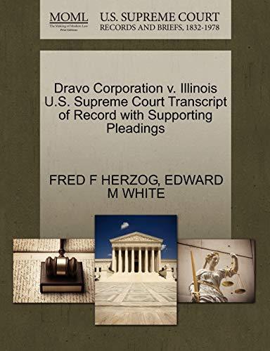 Dravo Corporation V. Illinois U.S. Supreme Court: Fred F Herzog
