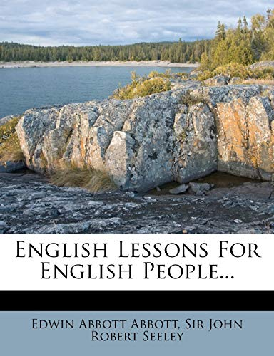 9781271002115: English Lessons For English People...