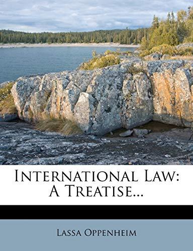 9781271064854: International Law: A Treatise...