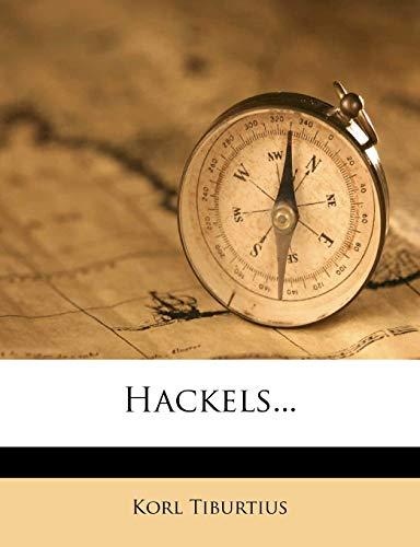 9781271068258: Hackels. (German Edition)