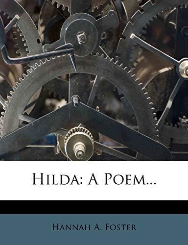 9781271153633: Hilda: A Poem...