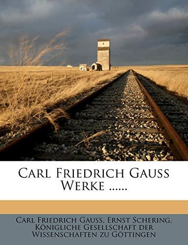 9781271509423: Carl Friedrich Gauss Werke ...... (Latin Edition)