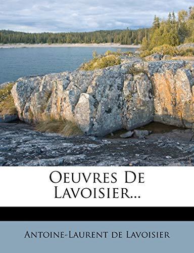 9781271744695: Oeuvres de Lavoisier...