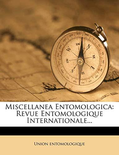 9781271775897: Miscellanea Entomologica: Revue Entomologique Internationale... (French Edition)