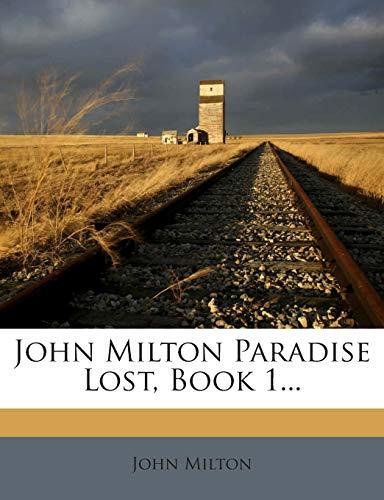 9781272390365: John Milton Paradise Lost, Book 1...