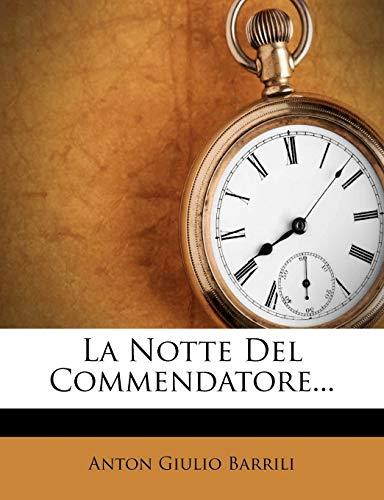 9781272514006: La Notte del Commendatore.
