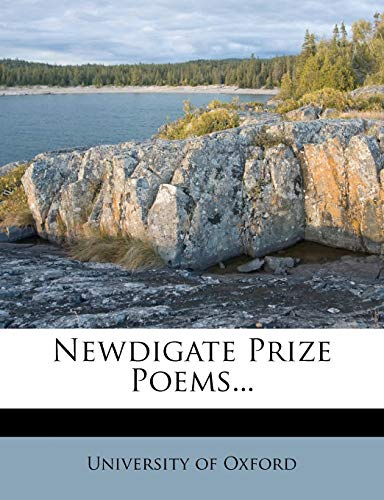 9781273009228: Newdigate Prize Poems...