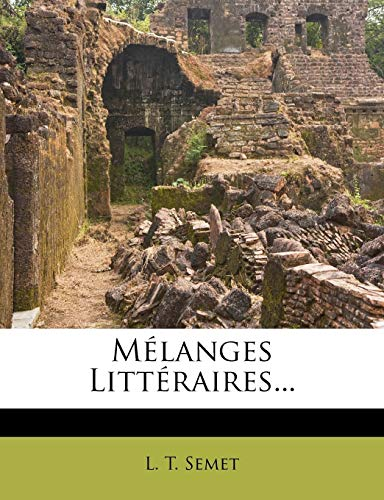 9781273120473: Melanges Litteraires... (French Edition)