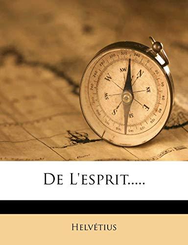9781273296956: de L'Esprit.....