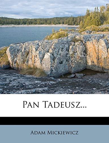 9781273451102: Pan Tadeusz...