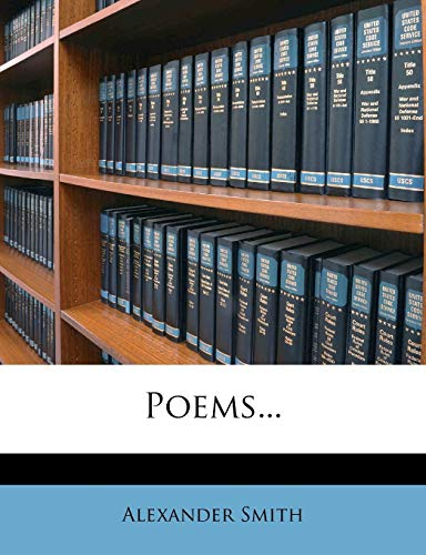 Poems... (127366082X) by Smith, Alexander