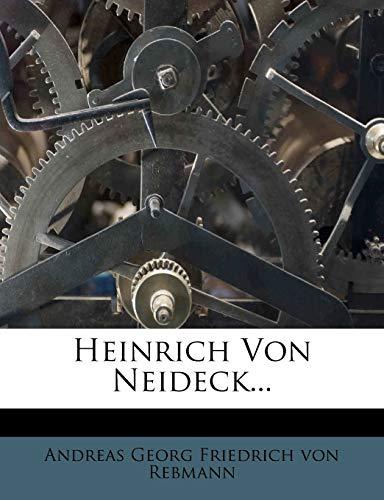9781273858765: Heinrich Von Neideck...