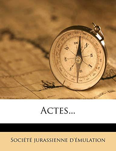 9781274172655: Actes...