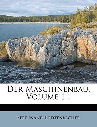 9781274320353: Der Maschinenbau, Volume 1...