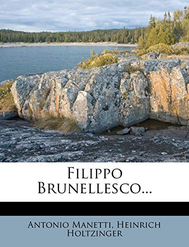 9781274519993: Filippo Brunellesco...