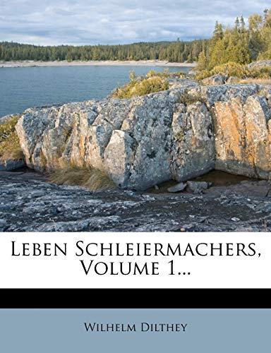 9781275056886: Leben Schleiermachers, Volume 1...