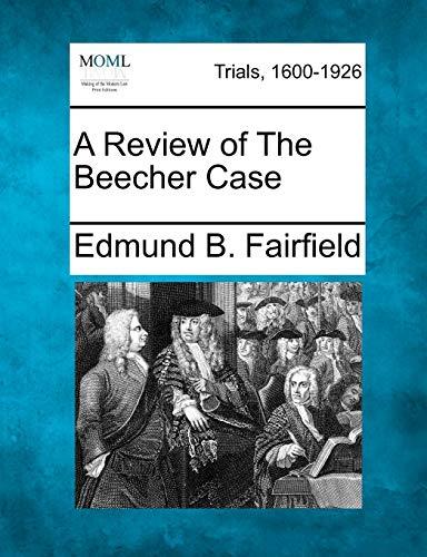 A Review of The Beecher Case: Edmund B. Fairfield