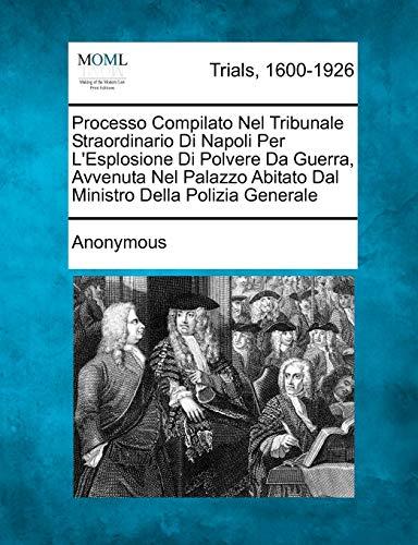 Processo Compilato Nel Tribunale Straordinario Di Napoli: Anonymous