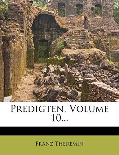 9781275136021: Predigten, Volume 10...