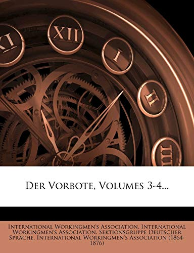 9781275186279: Der Vorbote, Volumes 3-4... (German Edition)