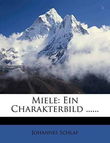 9781275192577: Miele: Ein Charakterbild ...... (German Edition)
