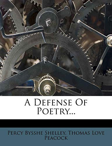 9781275271036: A Defense Of Poetry...