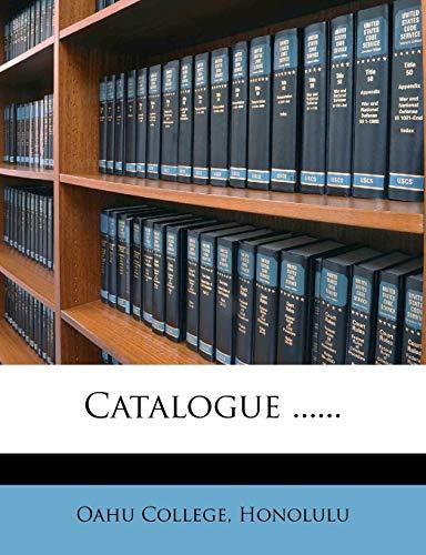 9781275314504: Catalogue ......