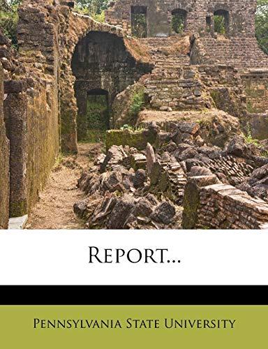 9781275498679: Report...
