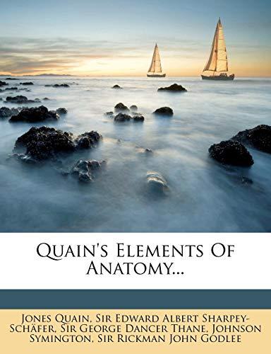 9781275607187: Quain's Elements Of Anatomy...