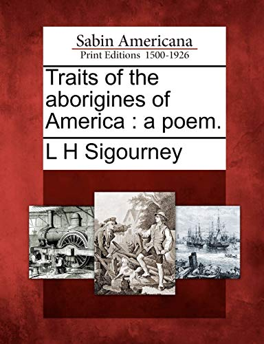 9781275794146: Traits of the aborigines of America: a poem.
