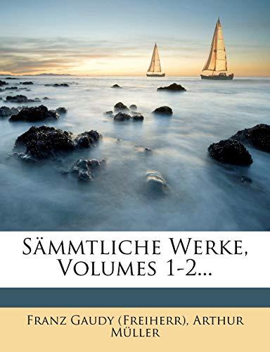 9781276131209: Sämmtliche Werke, Volumes 1-2... (German Edition)