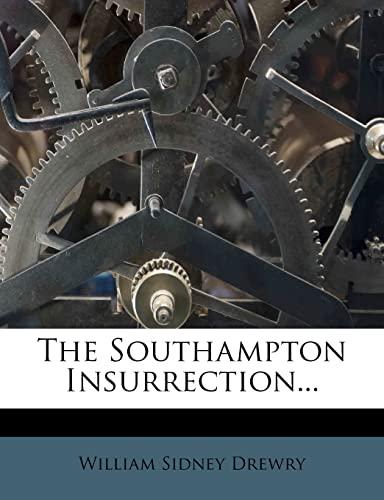 9781276675833: The Southampton Insurrection...