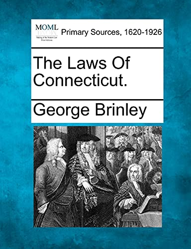 9781277107494: The Laws Of Connecticut.
