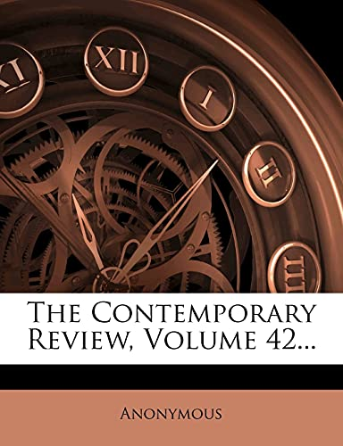 9781277271997: The Contemporary Review, Volume 42...