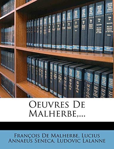 9781277368260: Oeuvres De Malherbe,... (French Edition)