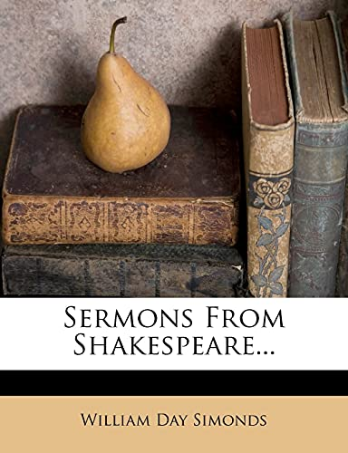 9781277429732: Sermons From Shakespeare...