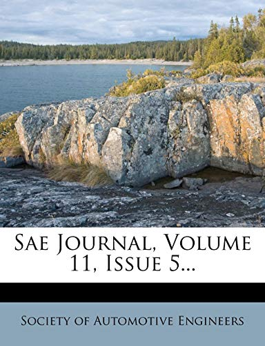 9781277616859: Sae Journal, Volume 11, Issue 5...