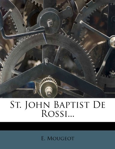 9781277739954: St. John Baptist De Rossi...